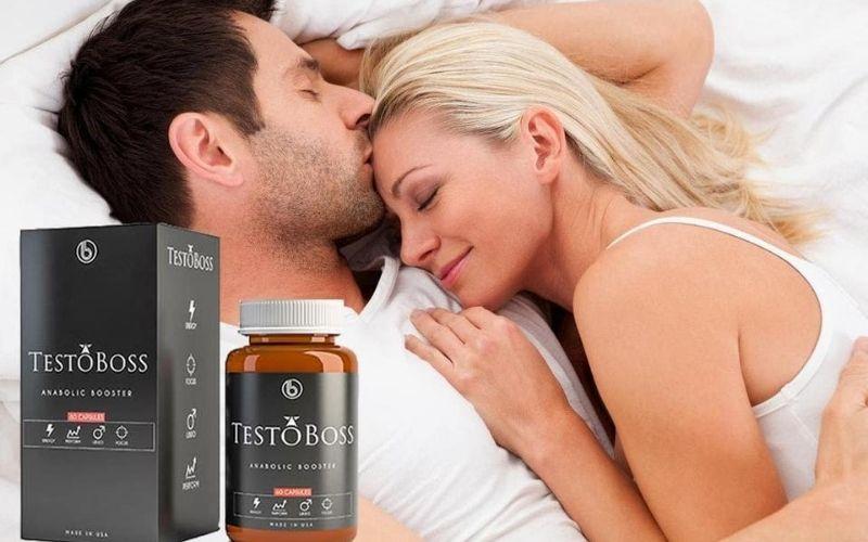 Thuốc sinh lý nam của Mỹ - Viên uống Testoboss