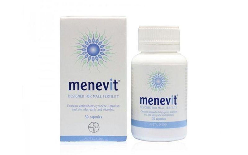 Thuốc tăng cường sinh lý nam của Úc - Menevit