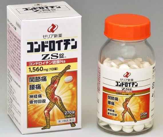 Thuốc thoát vị đĩa đệm ZS Chondroitin