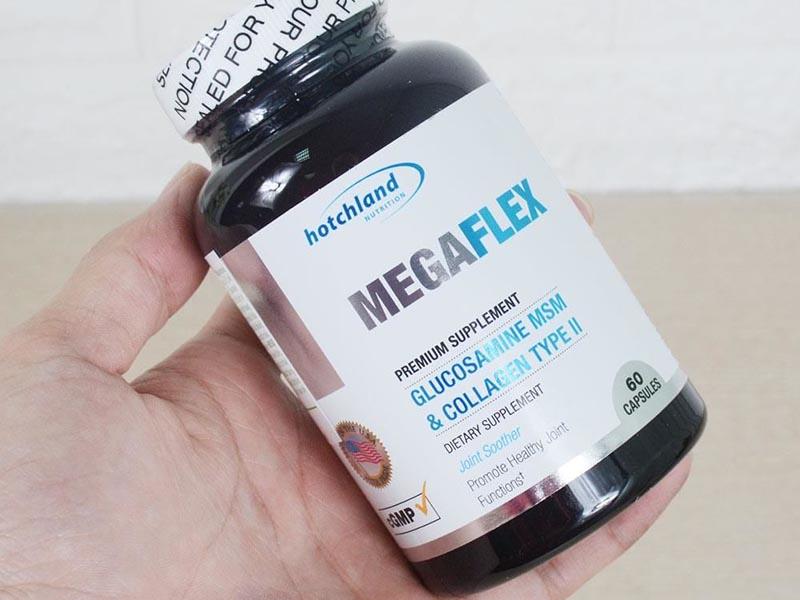 Thuốc trị đau khớp gối của Mỹ MegaFlex giúp cải thiện tình trạng khô cứng và nhức mỏi ở khớp