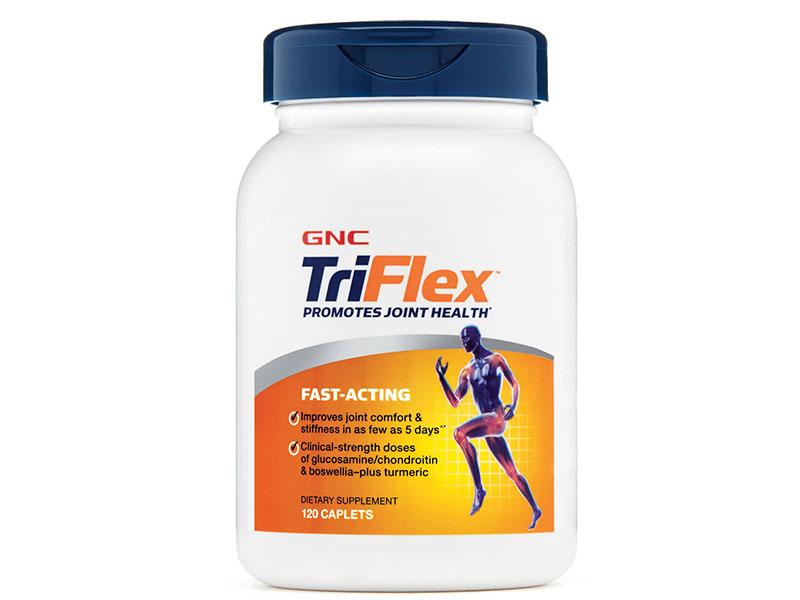 GNC Triflex Promotes Joint Health là viên uống giúp tăng độ dẻo dai của phần mô sụn