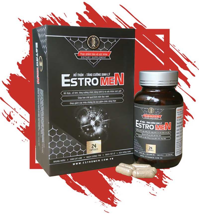 Thuốc trị rối loạn cương dương Estro Men
