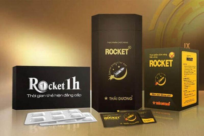 Thuốc trị rối loạn cương dương Rocket 1h