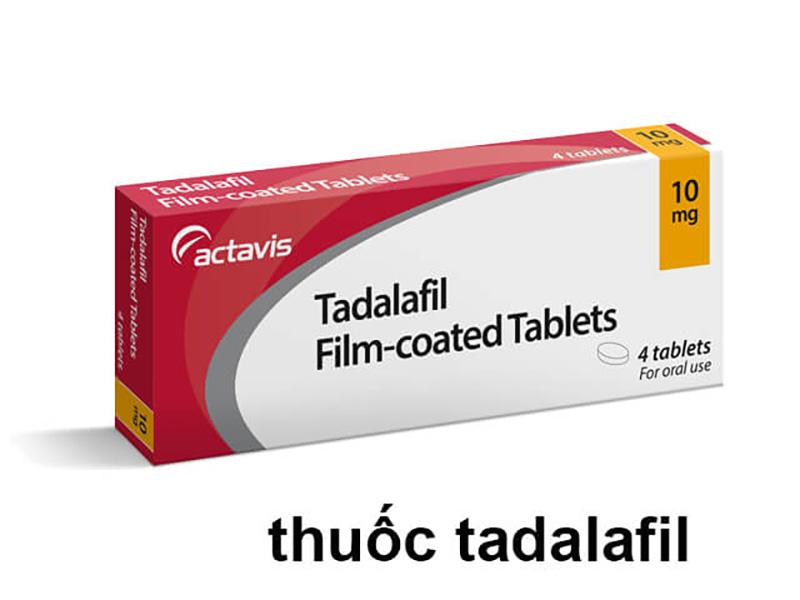 Điều trị rối loạn cương dương với Tadalafil