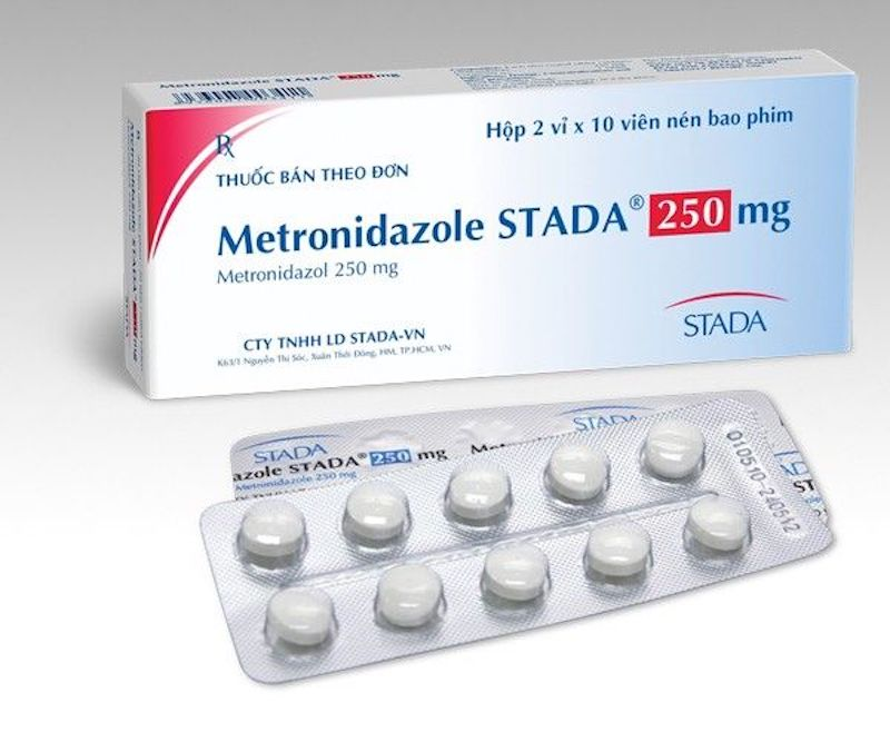 Thuốc trị vi khuẩn HP hiệu quả - Metronidazole