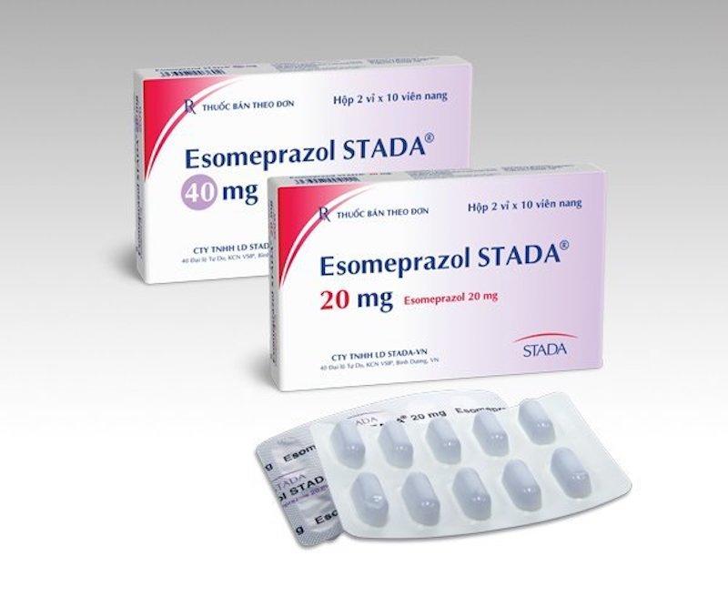 Thuốc ức chế bơm proton (PPI) Esomeprazole