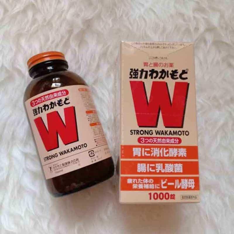 Viên uống cải thiện viêm dạ dày Strong Wakamoto