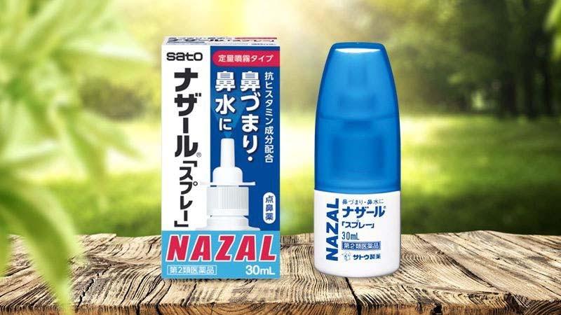 Nazal là một trong những loại thuốc xịt trị viêm mũi hàng đầu Nhật Bản
