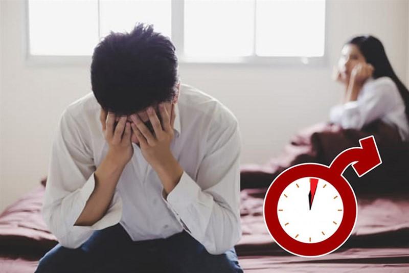 Xuất tinh sớm là vấn đề đáng quan ngại ở nam giới