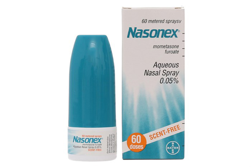 Nasonex - một sản phẩm của tập đoàn dược phẩm hàng đầu thế giới Bayer (Đức)