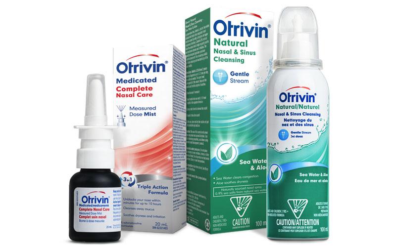 Otrivin có nhiều dạng bào chế cho các đối tượng bệnh nhân khác nhau