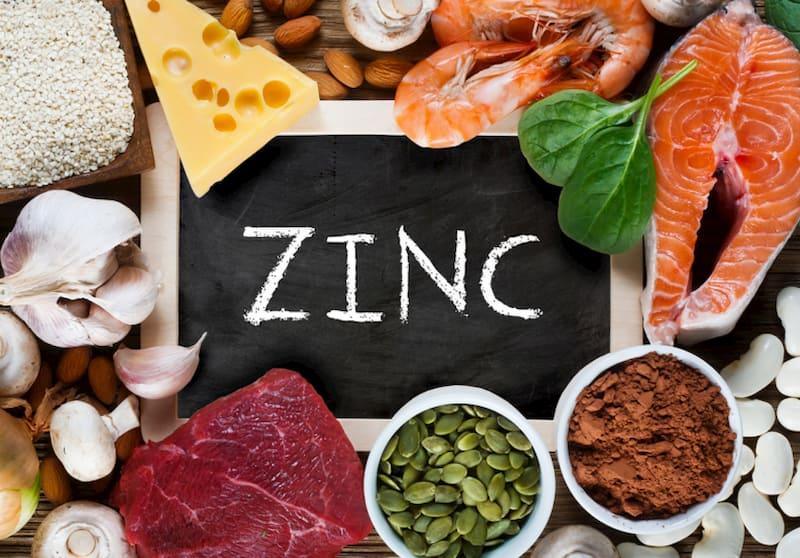 Thực phẩm giàu kẽm giúp cải thiện về số lượng và chất lượng tinh trùng