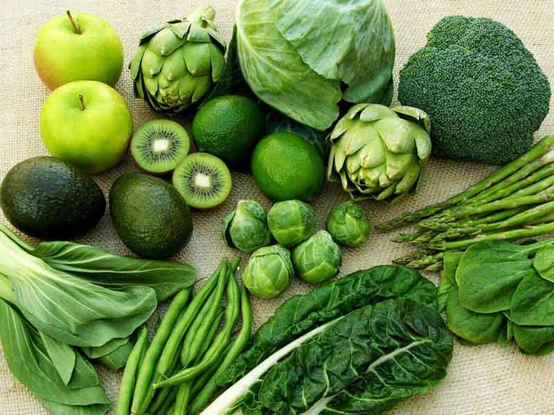 Vitamin và khoáng chất trong rau xanh có vai trò quan trọng trong việc tái tạo và nuôi dưỡng da.