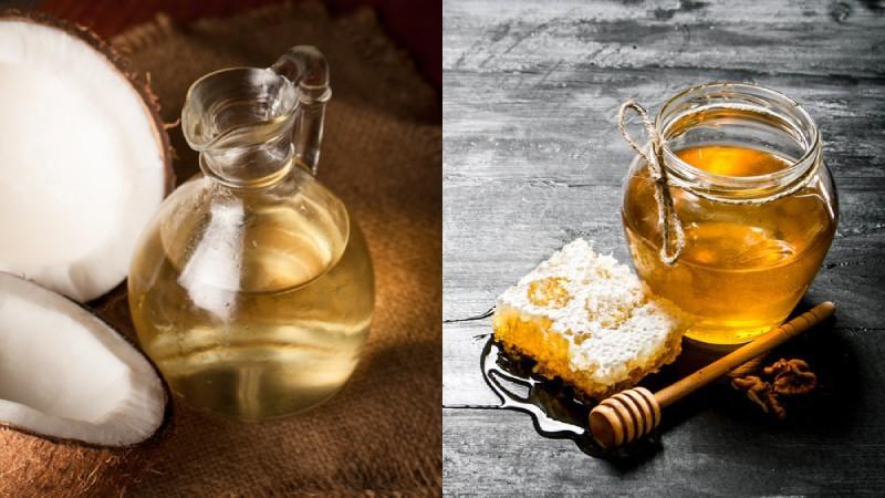 Công thức chữa bệnh với dầu dừa và mật ong