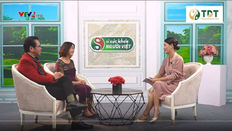 Sơ can Bình vị tán trên sóng truyền hình VTV2 Vì sức khỏe người Việt