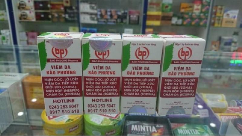 Sản phẩm viêm da Bảo Phương hiện được phân phối tại các hiệu thuốc trên toàn quốc.