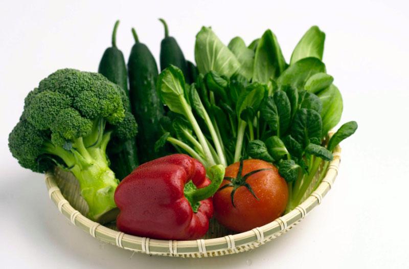 Việc ăn nhiều rau cải thiện sức đề kháng, và hệ tiêu hóa của bạn.
