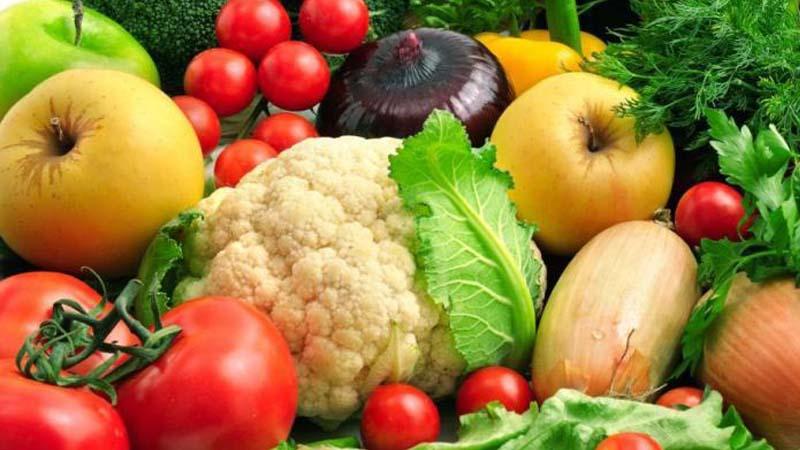 Bổ sung nhiều thực phẩm giàu vitamin như rau củ quả
