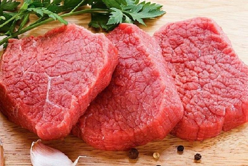 Viêm da tiếp xúc kiêng gì, nên tránh xa các loại thịt đỏ