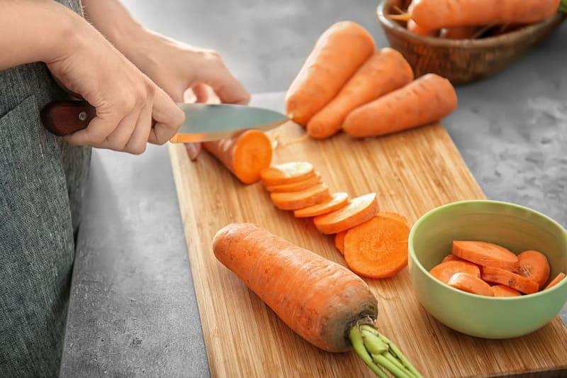 Cà rốt có chứa nhiều beta carotene tốt cho xương khớp