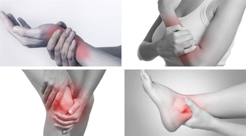 Các triệu chứng đau nhức do 3 thứ tà khí phong, hàn, thấp gây ra