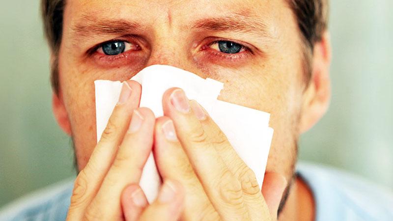 Viêm mũi dị ứng theo mùa có thể làm trầm trọng các bệnh lý dị ứng khác