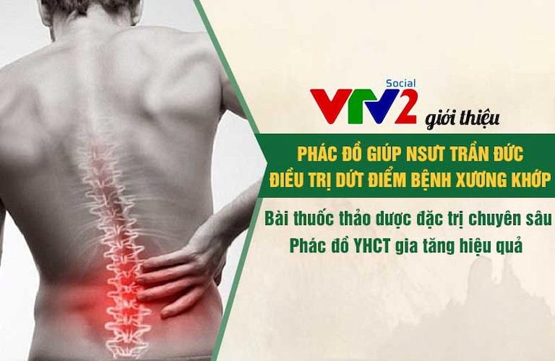 VTV2 giới thiệu giải pháp xương khớp Đông y có biện chứng đến hàng triệu khán giả