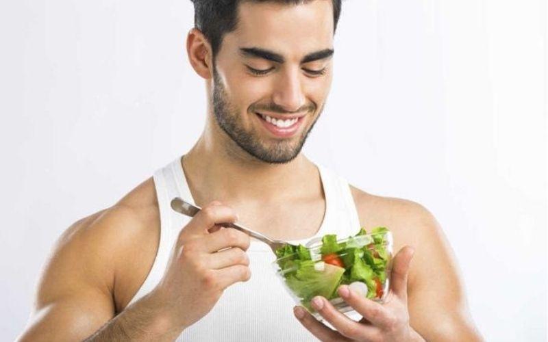 Nam giới nên ăn nhiều rau xanh