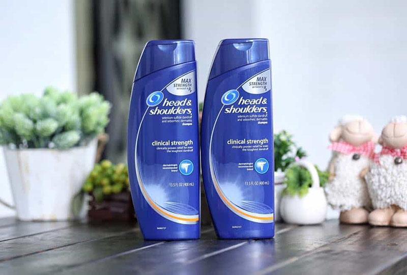 Head and Shoulders là sản phẩm rất quen thuộc với người dùng tại Việt Nam