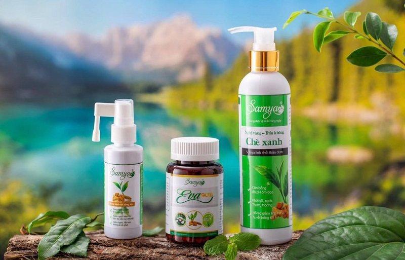 Mỗi sản phẩm thuộc dòng Samya trị viêm lộ tuyến đều mang những công dụng khác nhau
