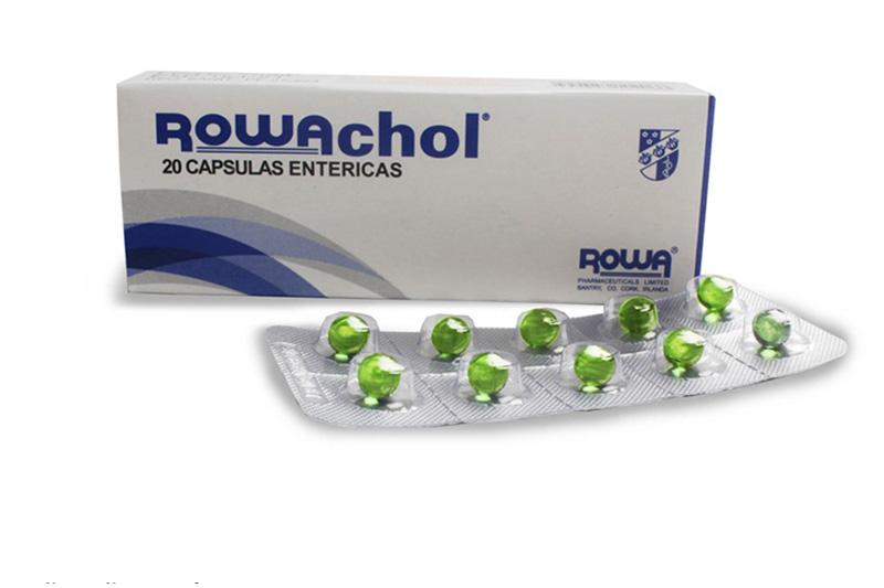 Không sử dụng Rowachol cho người quá mẫn với thành phần của thuốc