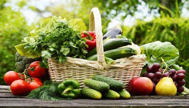 Vitamin và chất xơ có nhiều trong các loại rau, củ quả