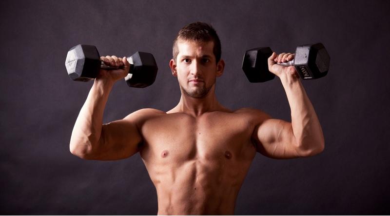 Bài tập tạ giúp tăng sinh sức mạnh phần cơ thân
