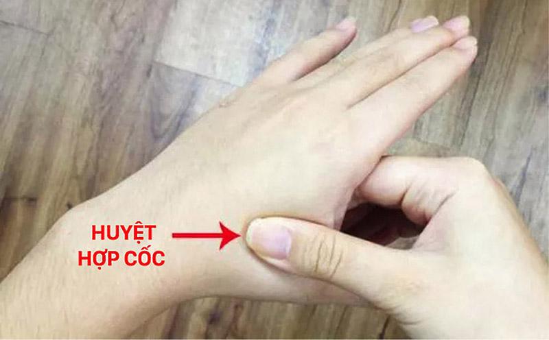 Cách bấm huyệt chữa viêm mũi dị ứng