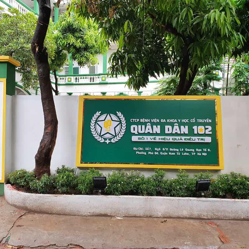 Bệnh viện Đa khoa YHCT Quân Dân 102