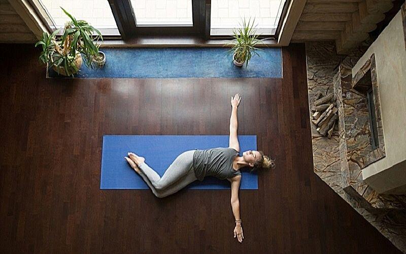 Tập luyện yoga giúp hạn chế các triệu chứng của bệnh thoát vị