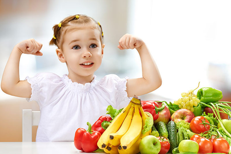 Một thực đơn dinh dưỡng hớp lý có thể giúp trẻ nhanh chóng cải thiện bệnh