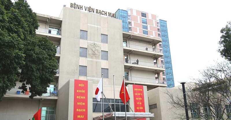 Bệnh viện Bạch Mai là cơ sở y tế lớn nhất cả nước