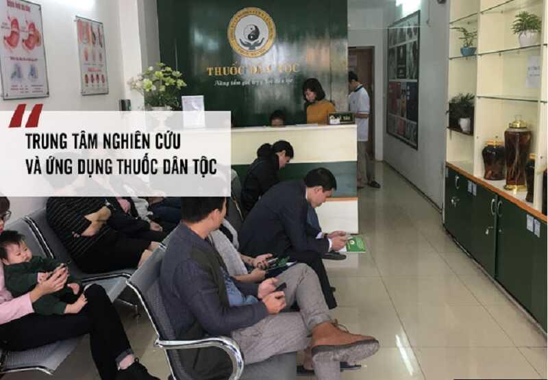 Trung tâm Nghiên cứu và Ứng dụng Thuốc dân tộclà địa chỉ nổi tiếng với các bài thuốc Đông y cổ truyền có hiệu quả cao