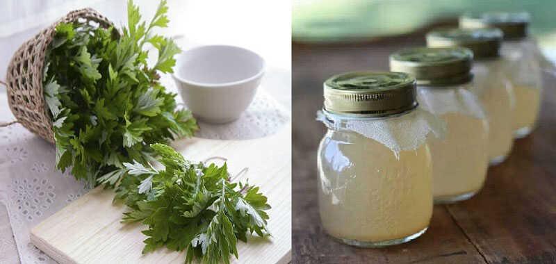 Ngải cứu, dấm ngạo chườm nóng giúp giảm đau nhanh