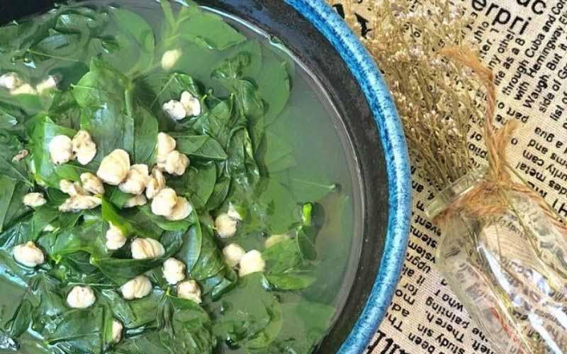 Ngao nấu rau ngót chữa yếu sinh lý hiệu quả