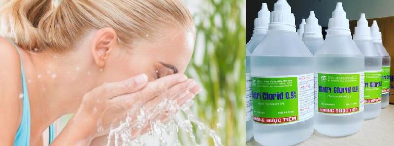 Nước muối được coi là khắc tinh của các tác nhân gây bệnh ngoài da