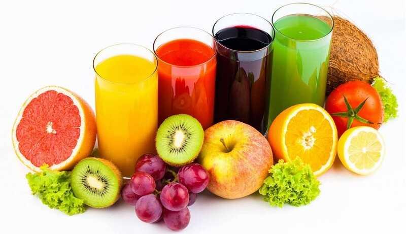 Dùng hoa quả tươi giúp cải thiện các triệu chứng da mặt bị ngứa và rát
