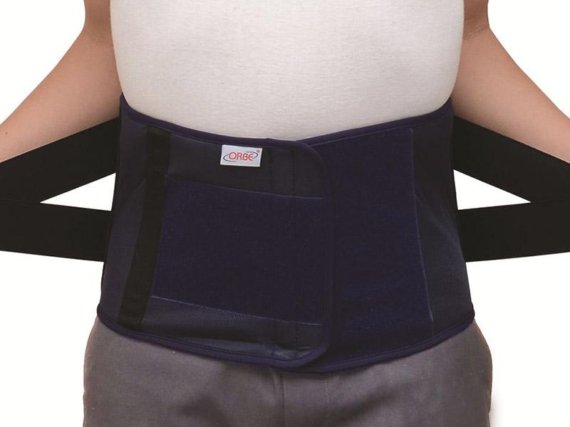 Đai đeo thoát vị đĩa đệm hoạt động với nguyên lý cố định cột sống