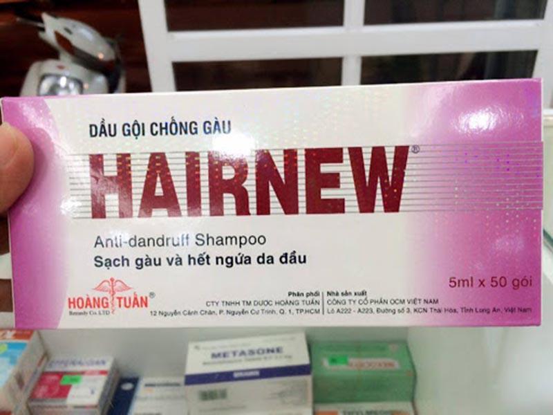 Hairnew là thương hiệu dầu gội Thái Lan rất nổi tiếng tại Việt Nam