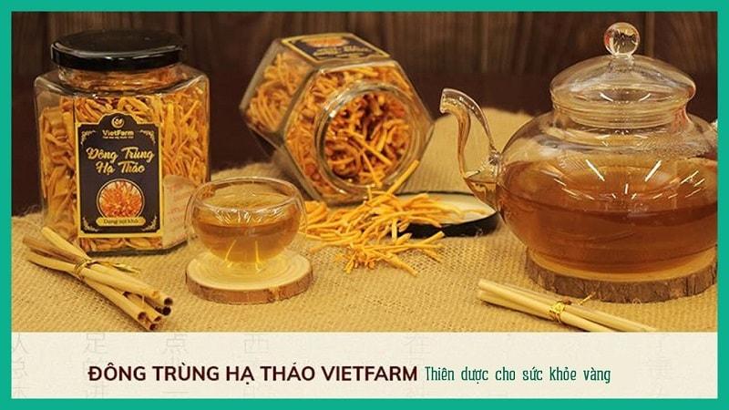 Đông trùng hạ thảo Vietfarm là sản phẩm đáng tin cậy
