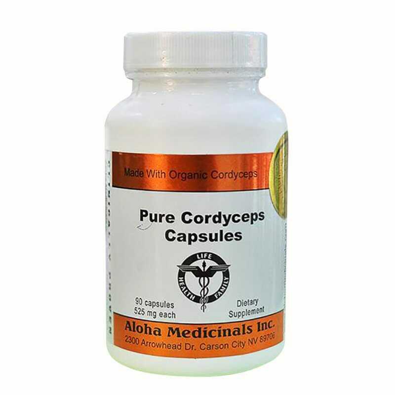 Pure Cordyceps hỗ trợ sức khỏe, bồi bổ cơ thể rất hiệu quả