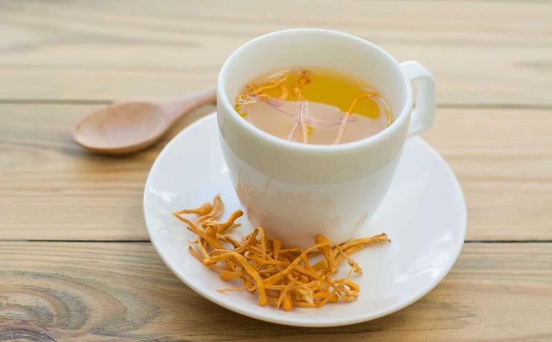 Trà trùng thảo khô là cách sử dụng đơn giản giúp nâng cao sức khỏe cho cơ thể