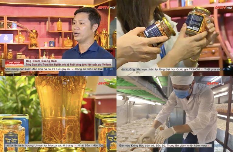 """GĐ Trung tâm Vietfarm chia sẻ về ĐTHT Vietfarm trên sóng chương trình """"An toàn 365"""" của kênh ANTV"""
