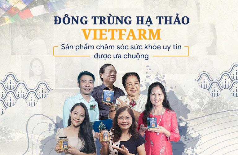 NS Văn Báu, NS Thanh Tú, NS Phú Thăng, NS Công Lý, diễn viên Tùng Dương,... giới thiệu Đông trùng hạ thảo Vietfarm đến đông đảo người hâm mộ
